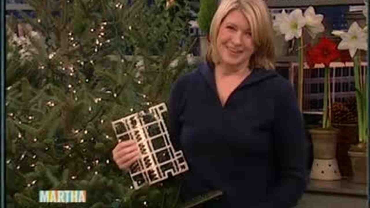 video good thing beautiful christmas tree lights martha stewart
