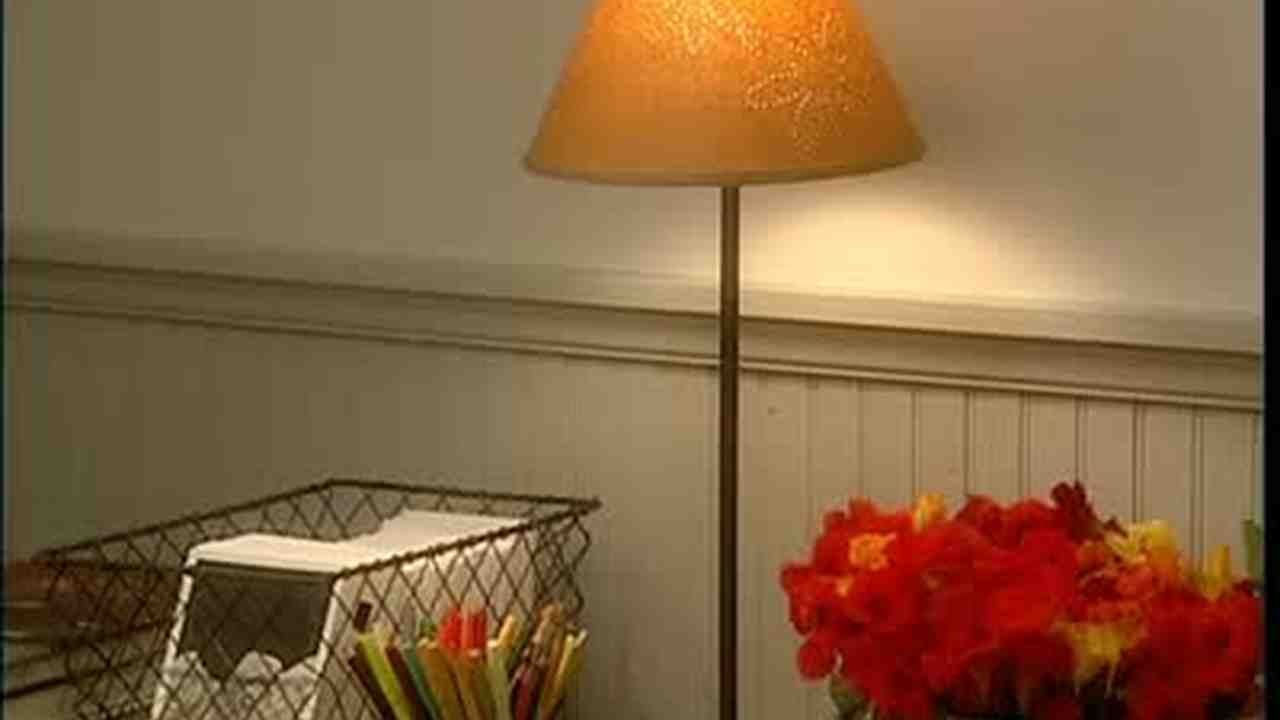 Video How To Make A Design On A Paper Lamp Shade Martha Stewart