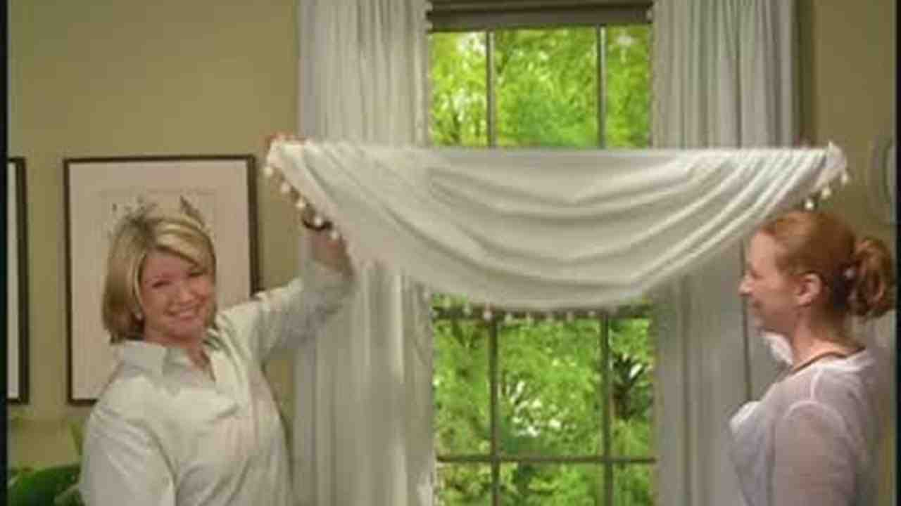 How To Make A Single Swag Curtain Curtain Menzilperde Net