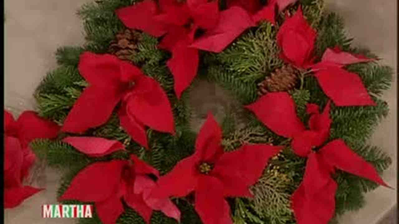 video good thing how to decorate with poinsettias martha stewart