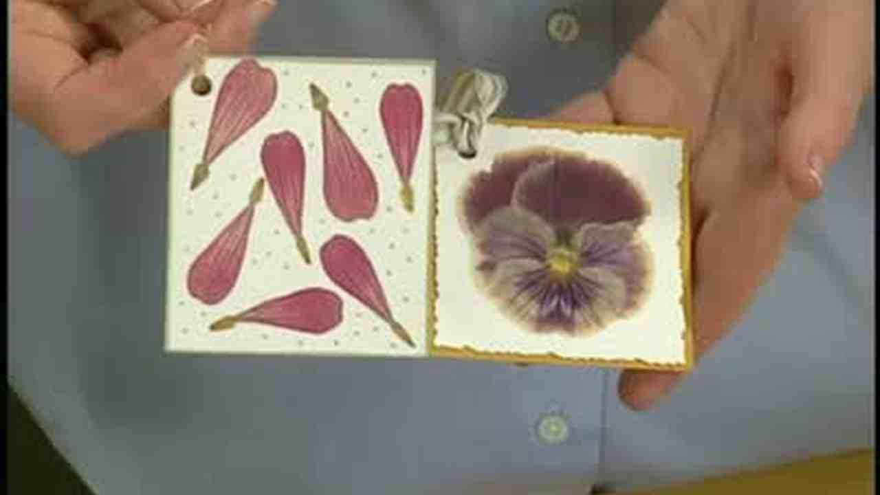 Video Using A Milk Carton To Seal Pressed Flowers Martha Stewart
