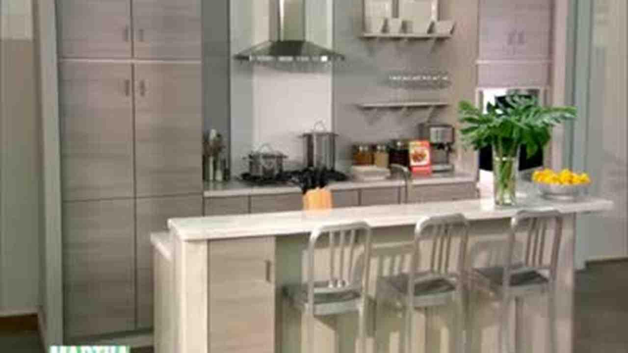 Video Martha Stewart Kitchen Designs at
