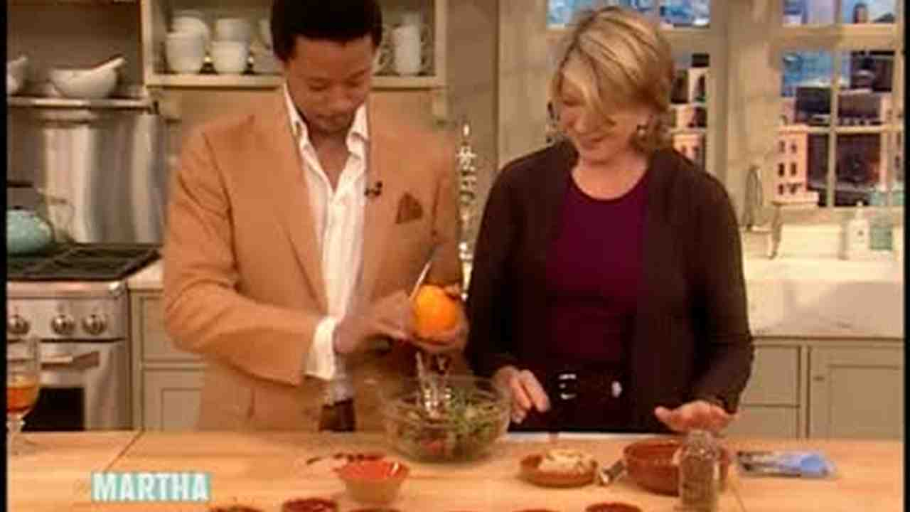 Video: How to Make an Olive Mix with Terrence Howard | Martha Stewart