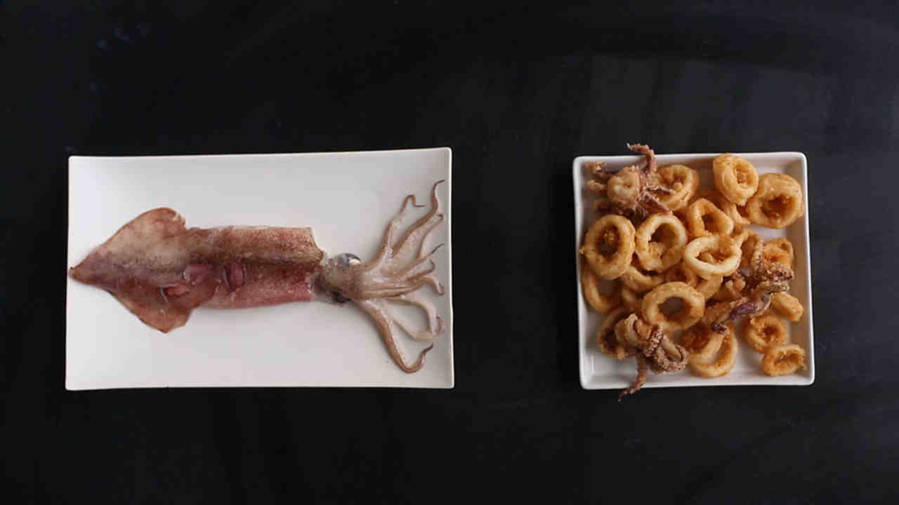 3 ways to easily clean squid