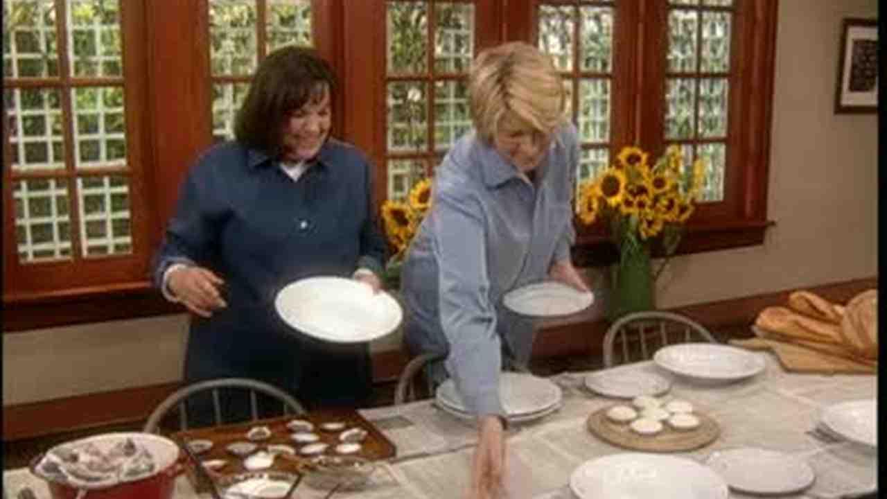 Video: Ina Garten Sets a Table For a Kitchen Clambake | Martha Stewart