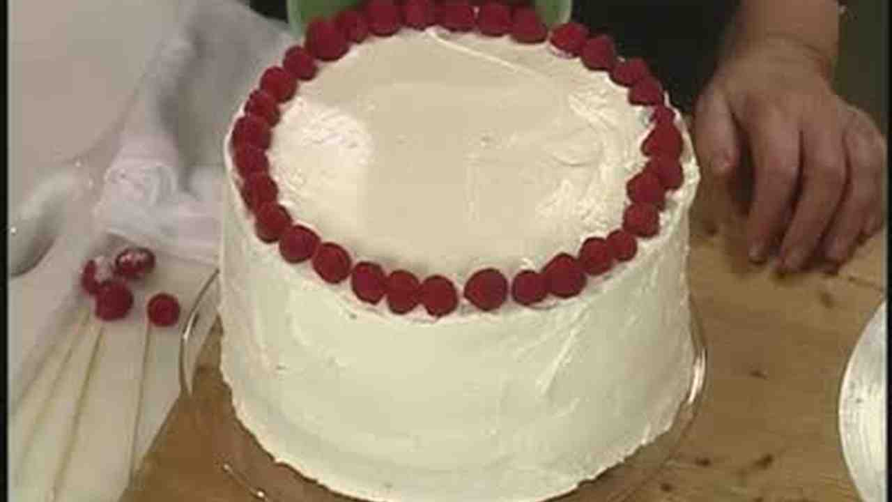 Video Making a Simple Birthday Cake with Raspberries Martha Stewart