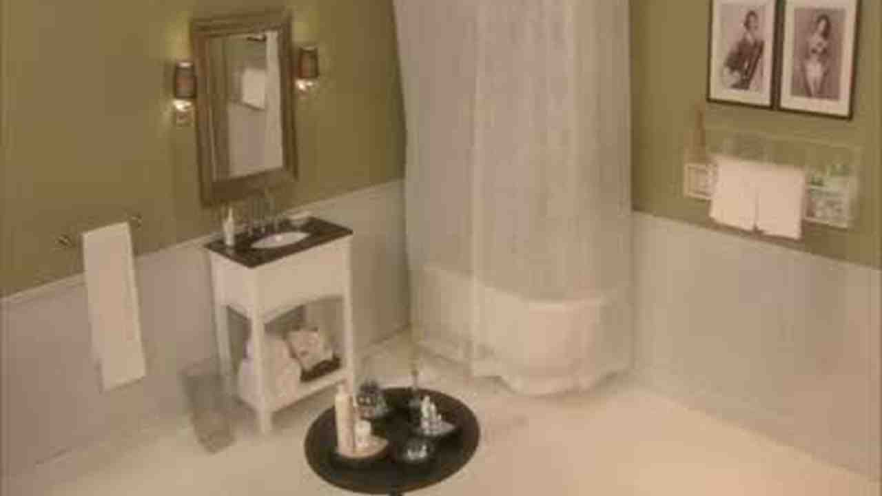Video: Affordable Bathroom Renovation Before And After | Martha Stewart