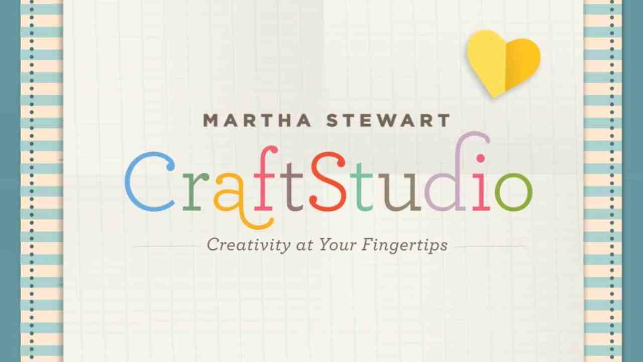 video introducing the martha stewart craftstudio app martha stewart