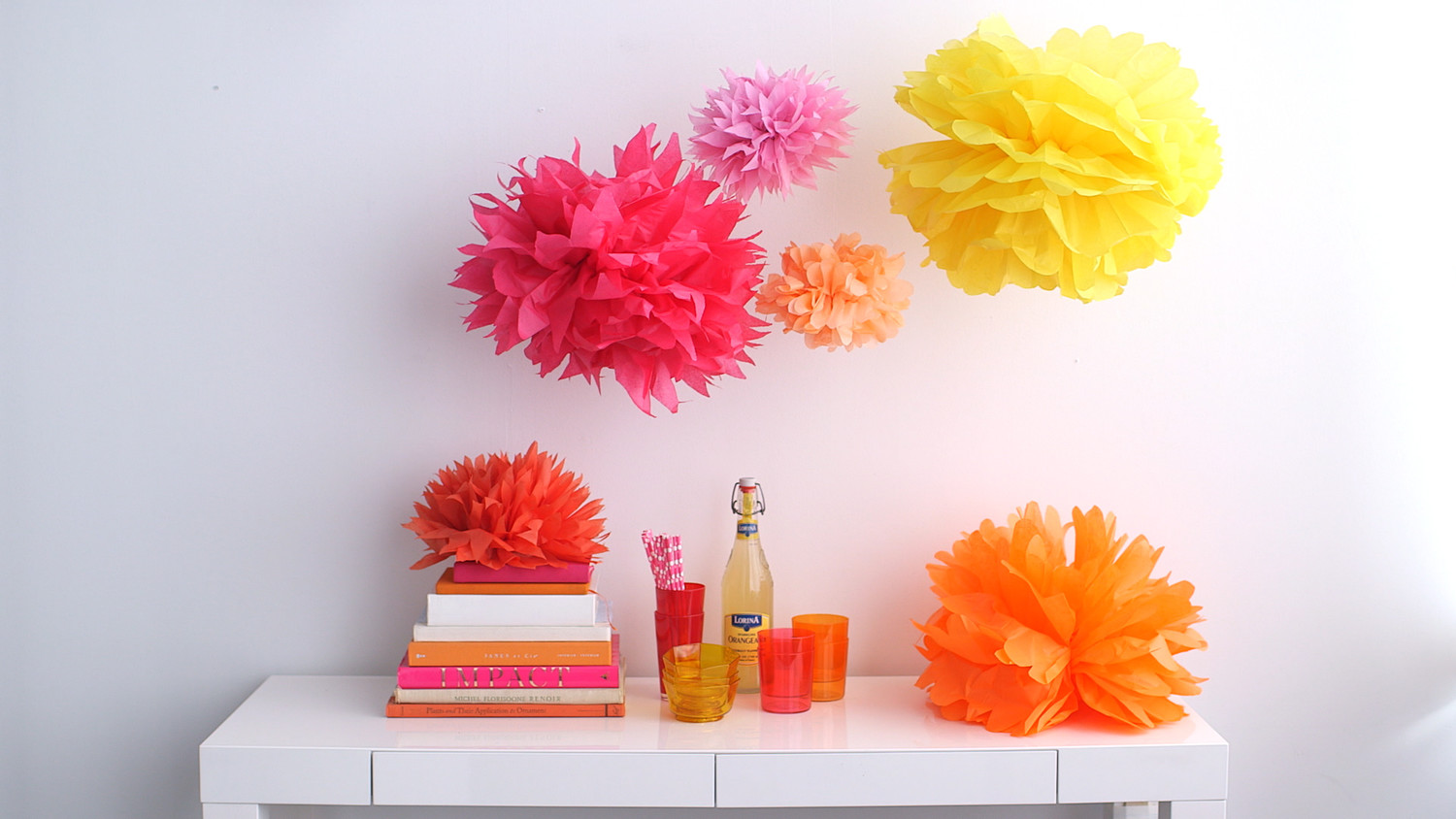Video tissue paper pom poms martha stewart mightylinksfo