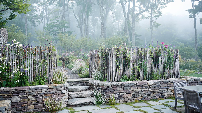 A Glorious Fall Flower Garden with an English Disposition | Martha ...