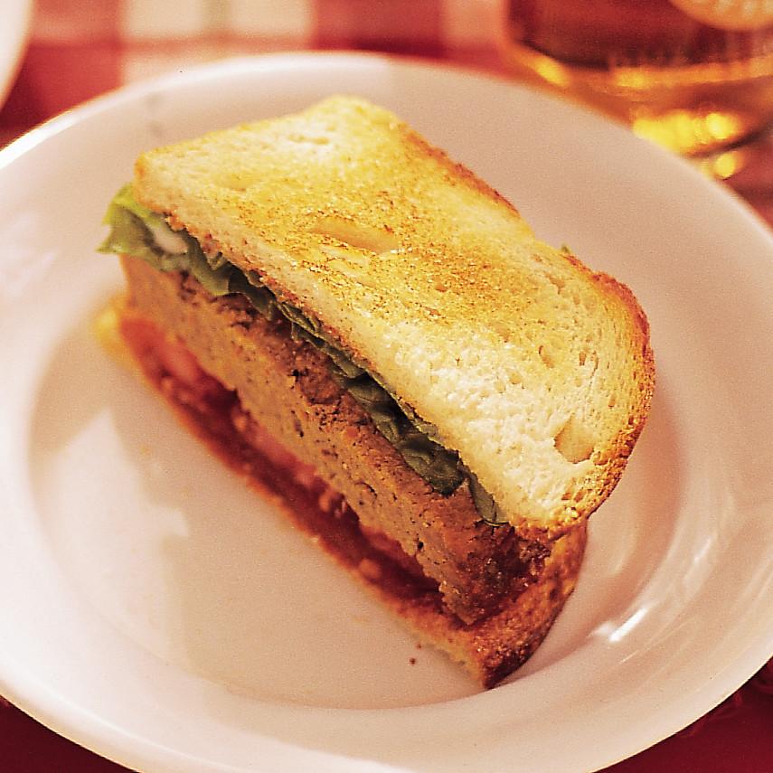 Birthday Meatloaf Cake