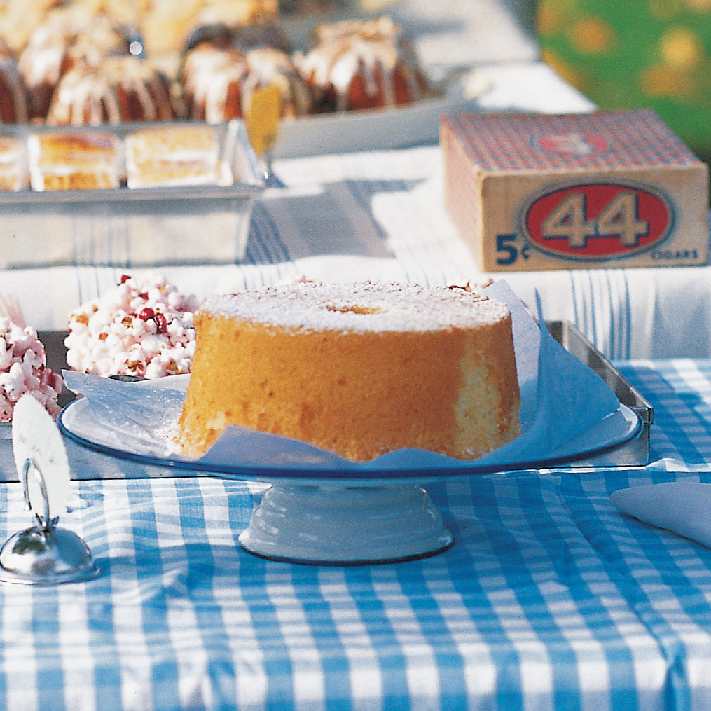 Martha Stewart Lemon Chiffon Cake Recipe