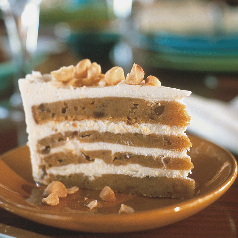 White Chocolate Sweet Potato Cake