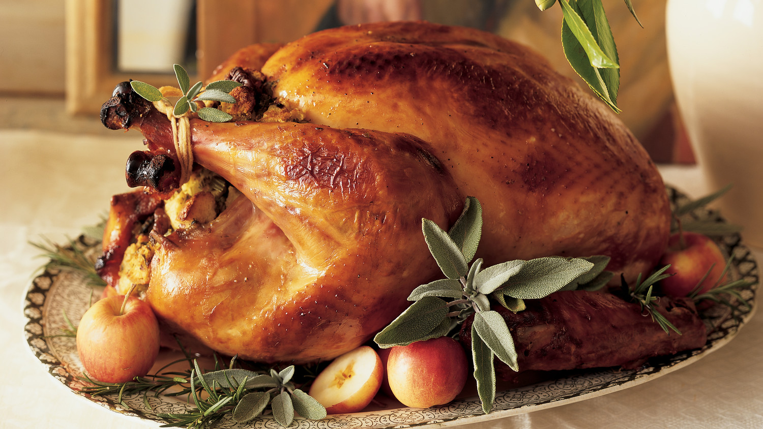 Classic Brined And Roasted Turkey