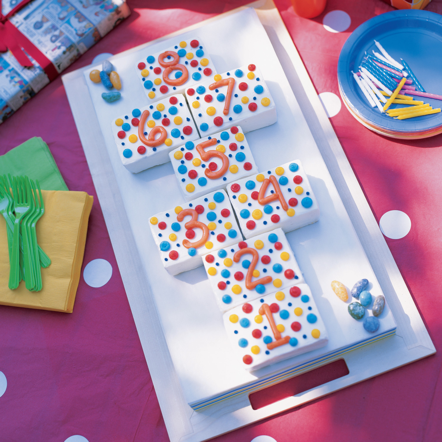 Polka-Dot Birthday Cake Recipe | Martha Stewart