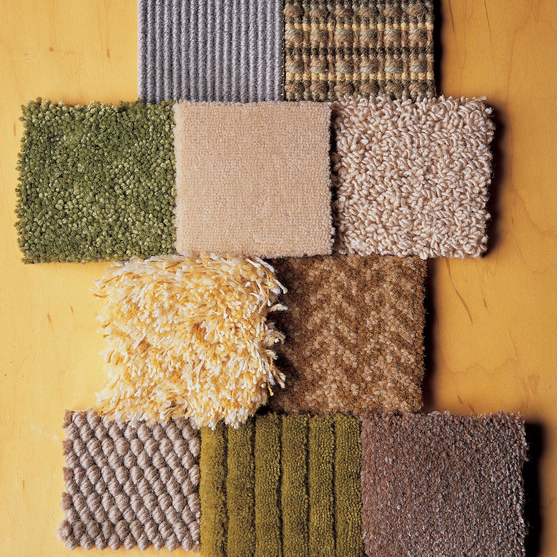 Nylon carpet styles