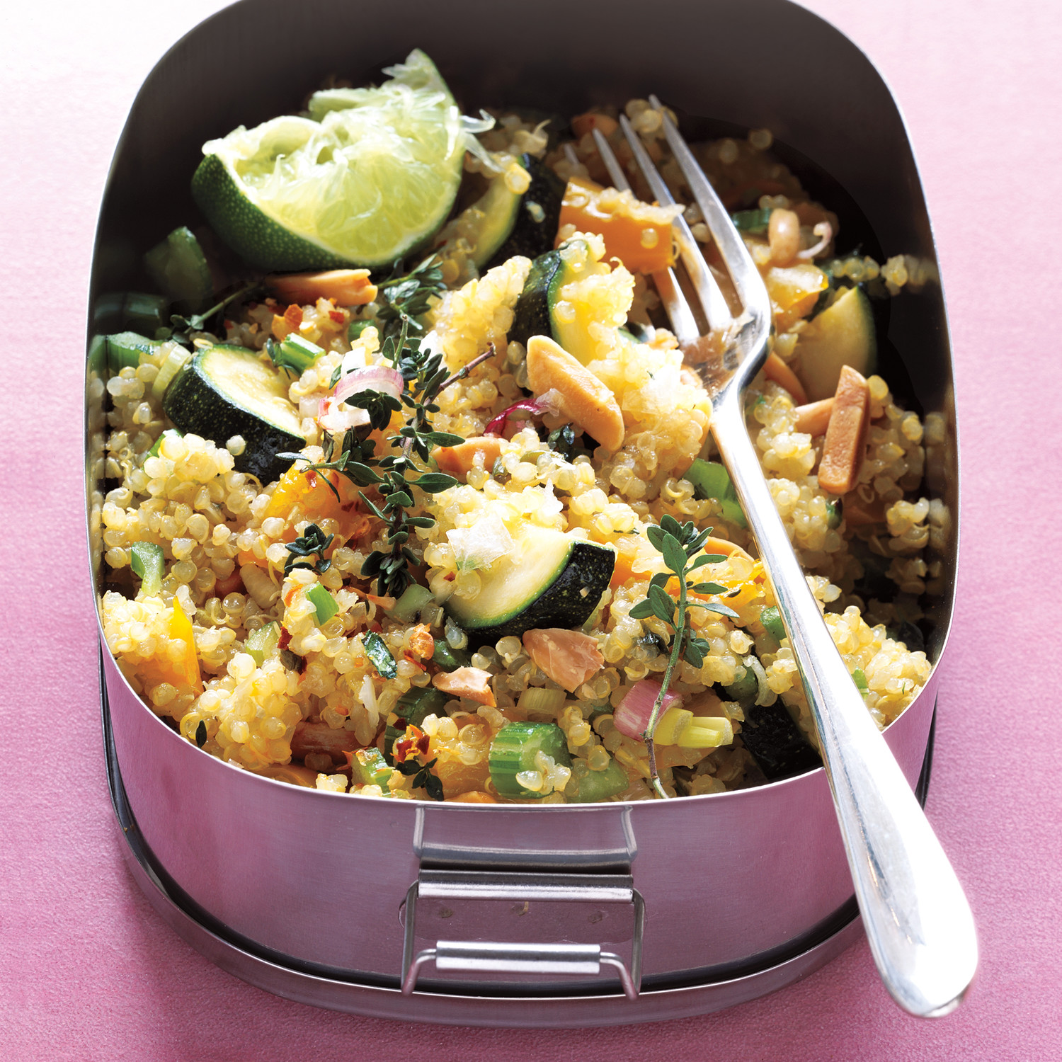 Quinoa salad with toasted almonds forumfinder Choice Image