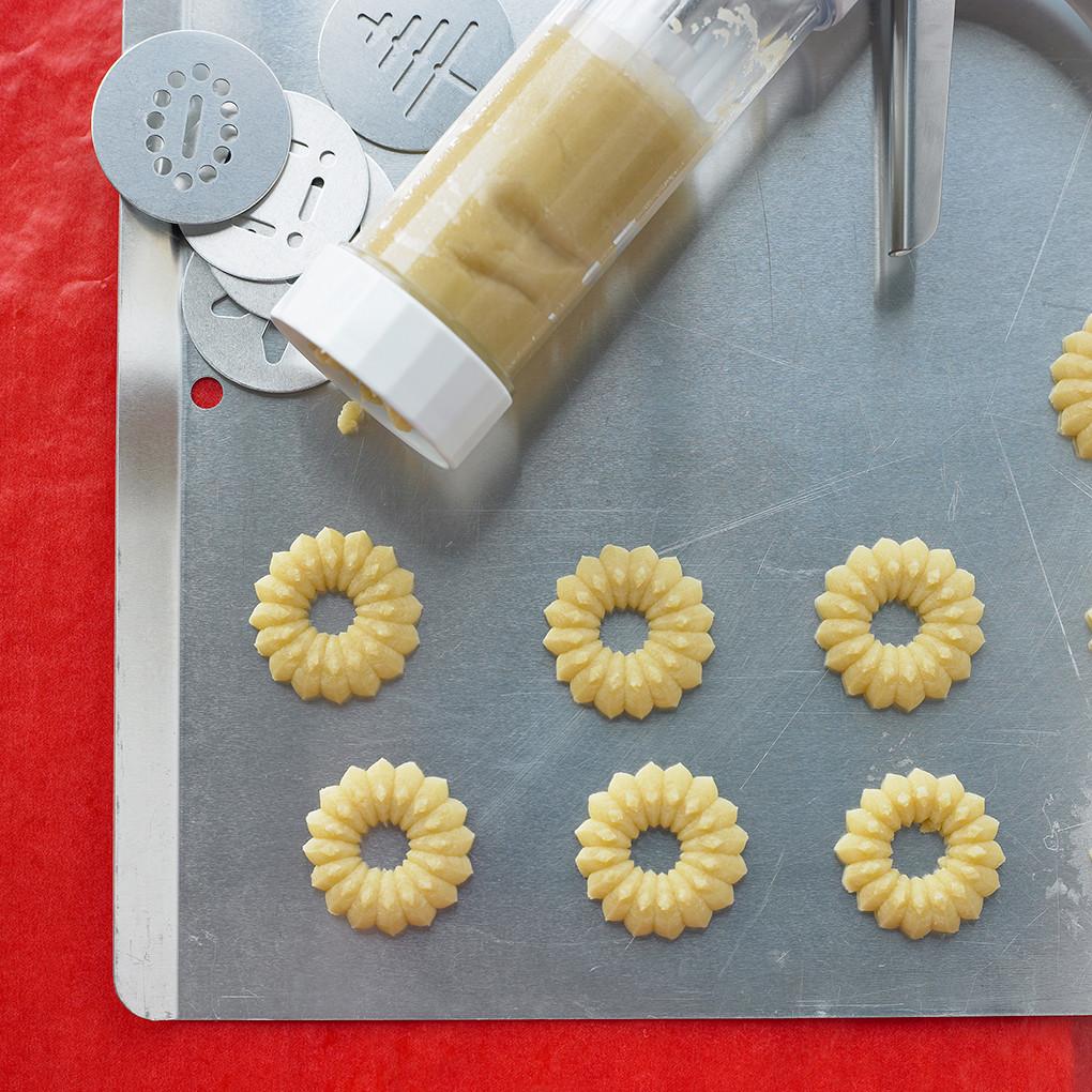 Martha stewart cookie press recipes