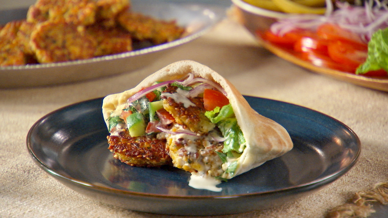 Falafel Recipe | Martha Stewart