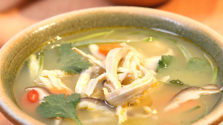 Thai Chicken Soup Recipe & Video | Martha Stewart