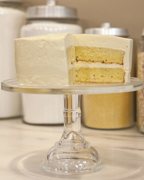 Orange Almond Cake with Swiss Meringue Buttercream Recipe & Video ...