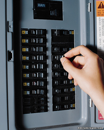 checking the fuse box martha stewart rh marthastewart com Electrical Panel Car Fuse Box