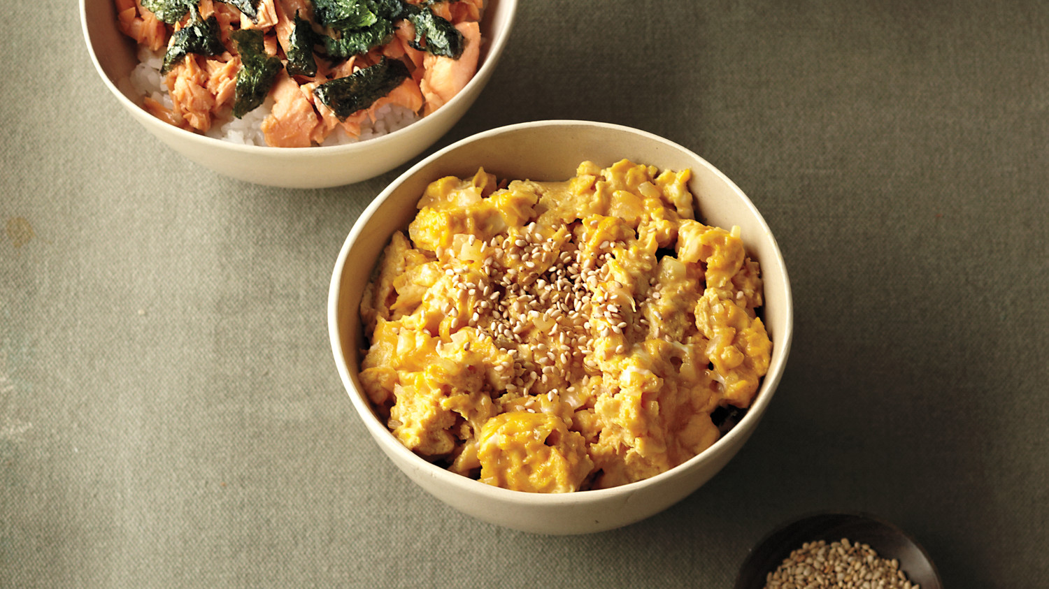 Nobu S Scrambled Eggs Donburi