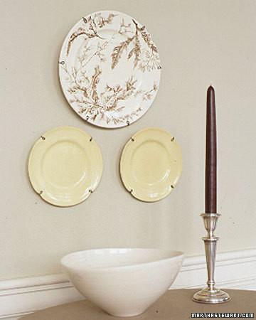 Wire Plate Hangers Martha Stewart