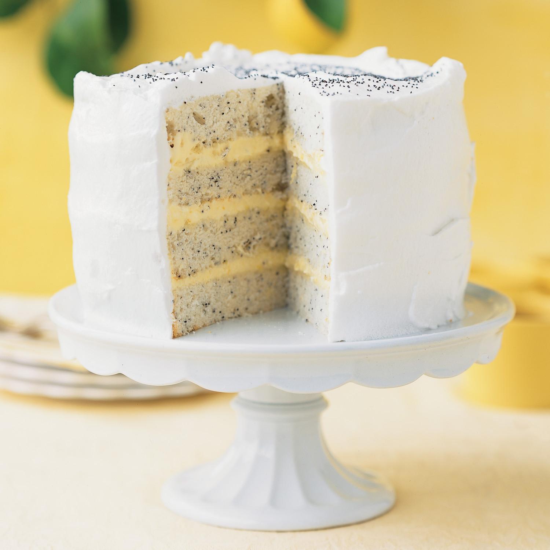 Lemon Poppy-Seed Lady Cake