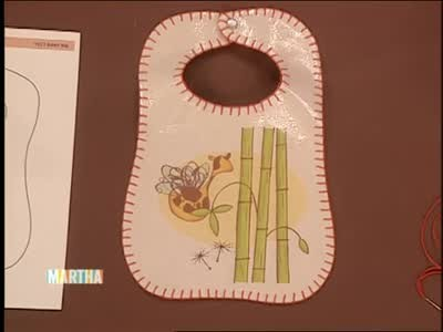 Video Homemade Baby Bibs