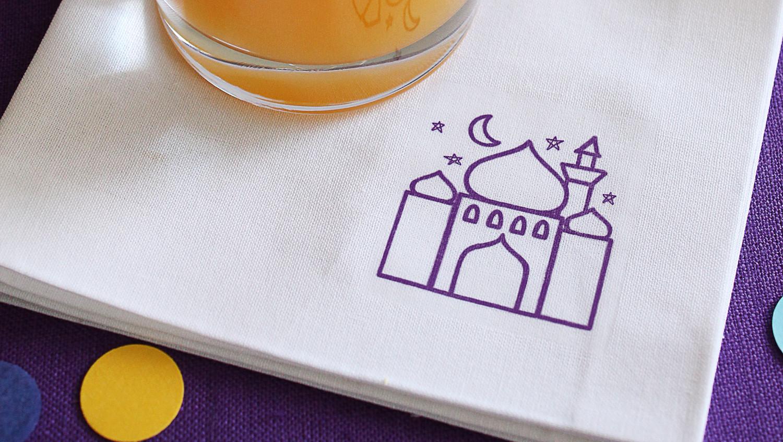 Eid al-Fitr Printed Napkins