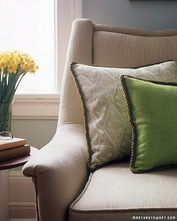 Pillow Edging Martha Stewart