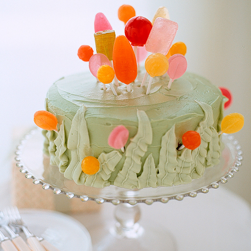Lollipop Garden Cake Recipe Martha Stewart