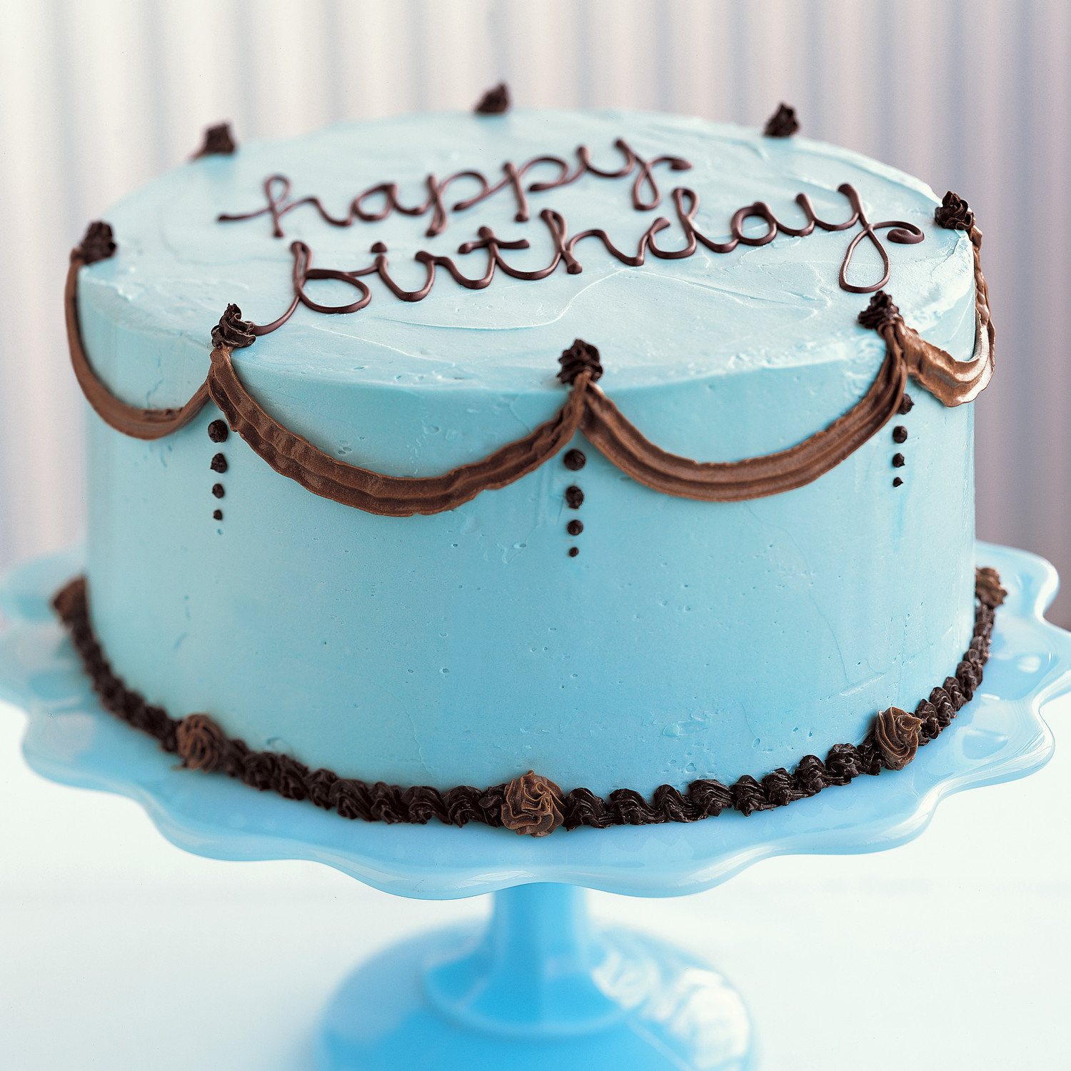 Cake Designs You Can Do At Home : How to Decorate a Birthday Cake Martha Stewart