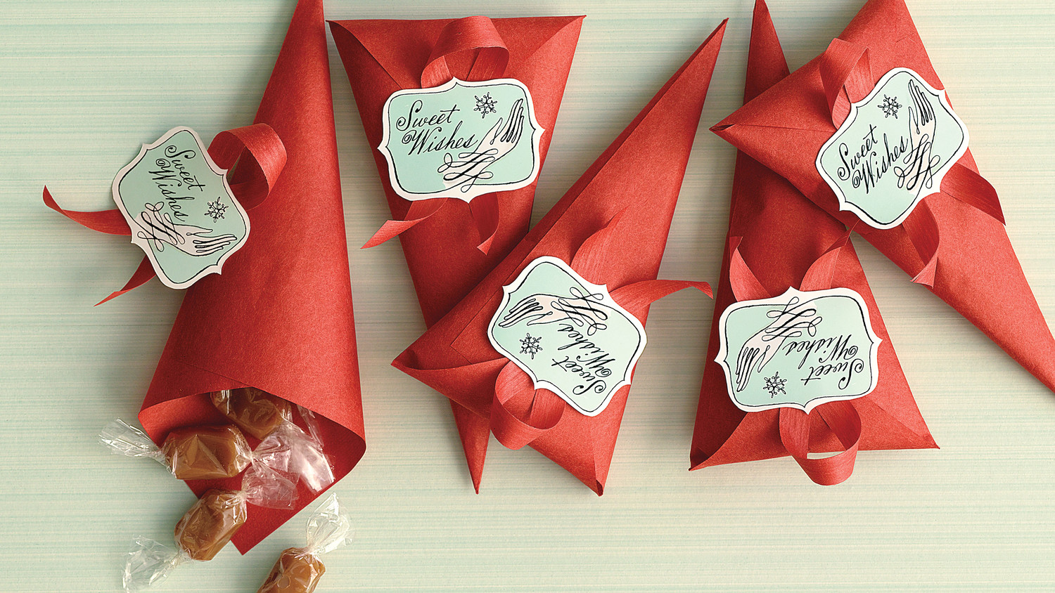 Martha Stewart Wedding Gift Ideas: Gingerbread Caramel Cones