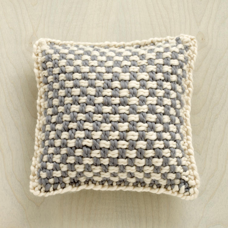 Martha Stewart Crafts Lion Brand Yarn Lofty Wool Blend Loom Woven