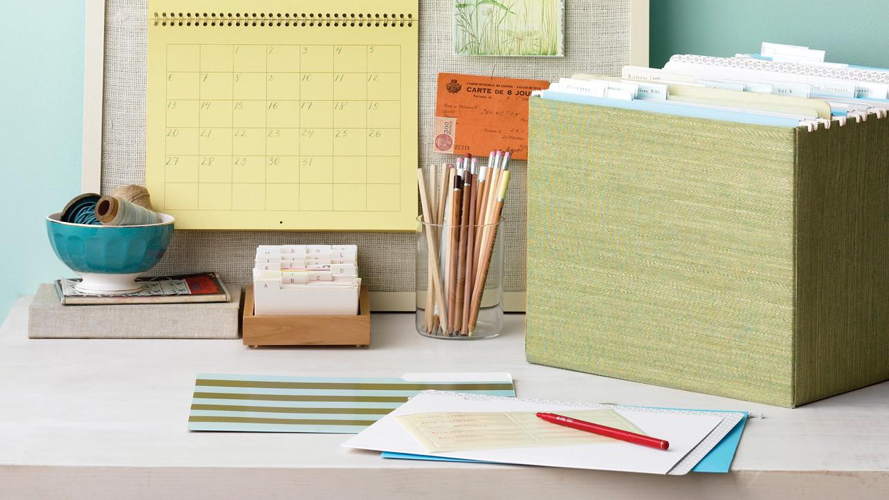 Get Organized: DIY Tips | Martha Stewart