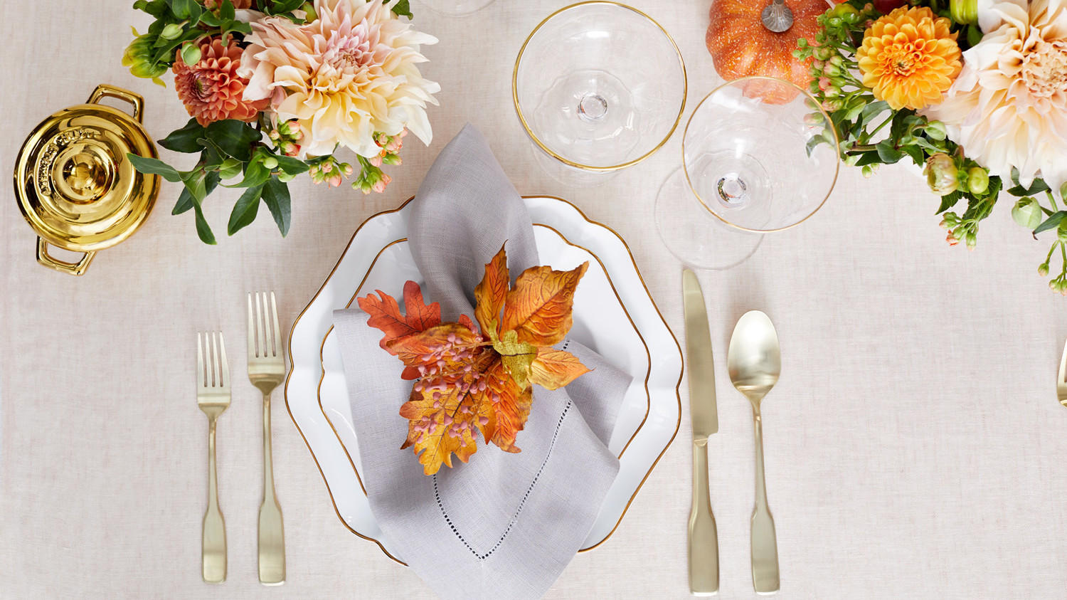 martha stewart collection harvest dinnerware and serveware place setting