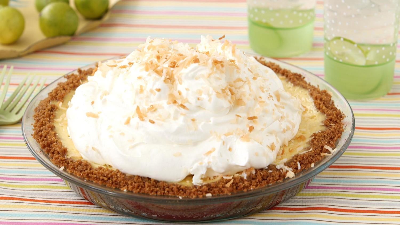 Coconut Key Lime Pie Video | Martha Stewart