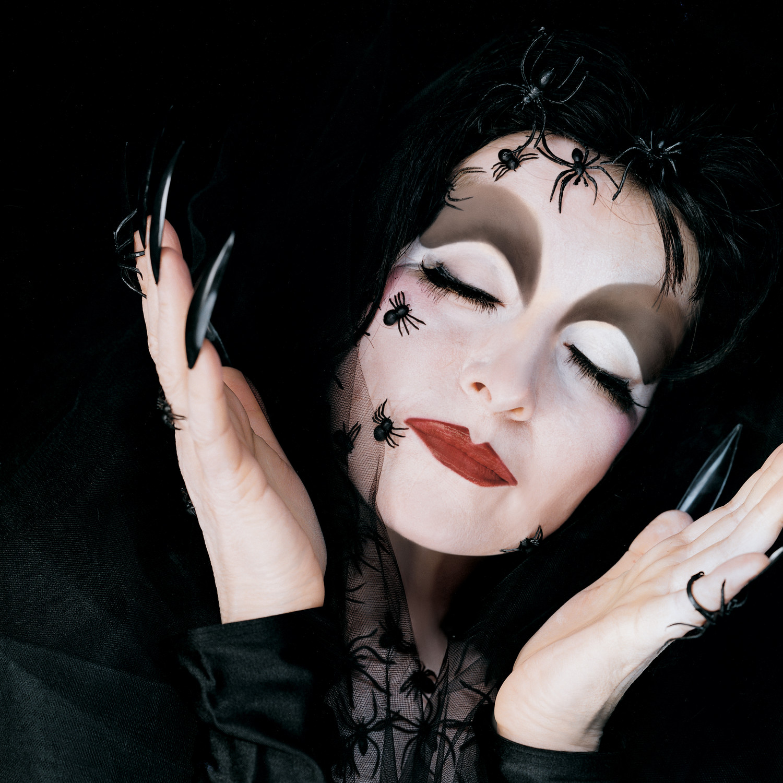 black widow makeup martha stewart. Black Bedroom Furniture Sets. Home Design Ideas