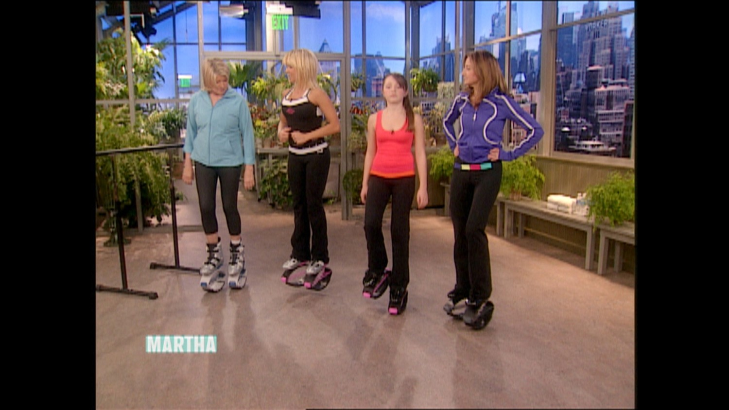 Video Kangoo Jumps Workout Martha Stewart