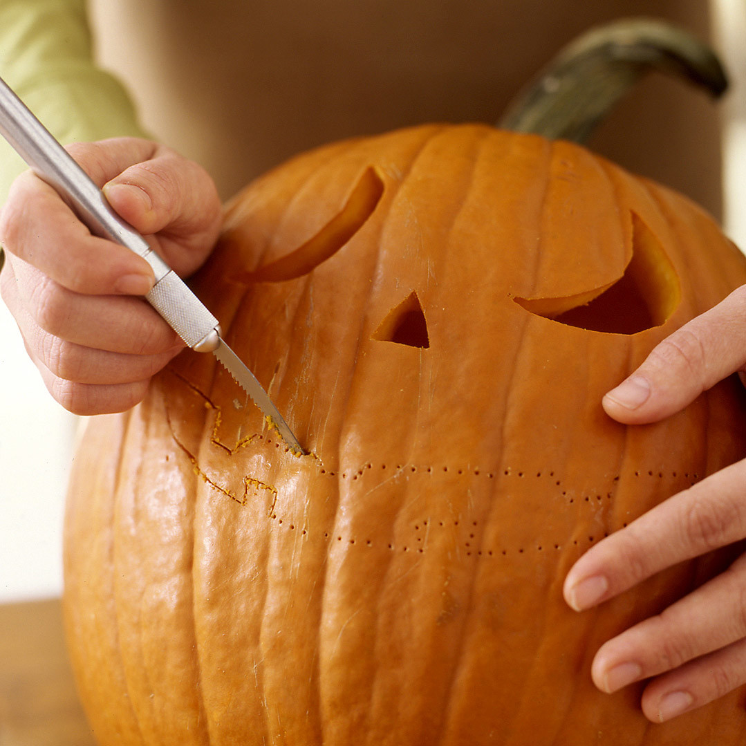 how to cut up a pumpkin for cooking
