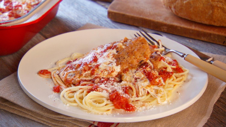 chicken parmesan recipe video martha stewart On chicken chicken parmesan desiigner