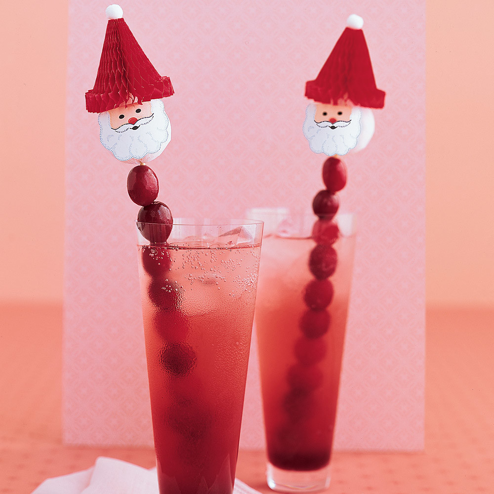 Cranberry Christmas Punch.Holiday Cranberry Cocktails