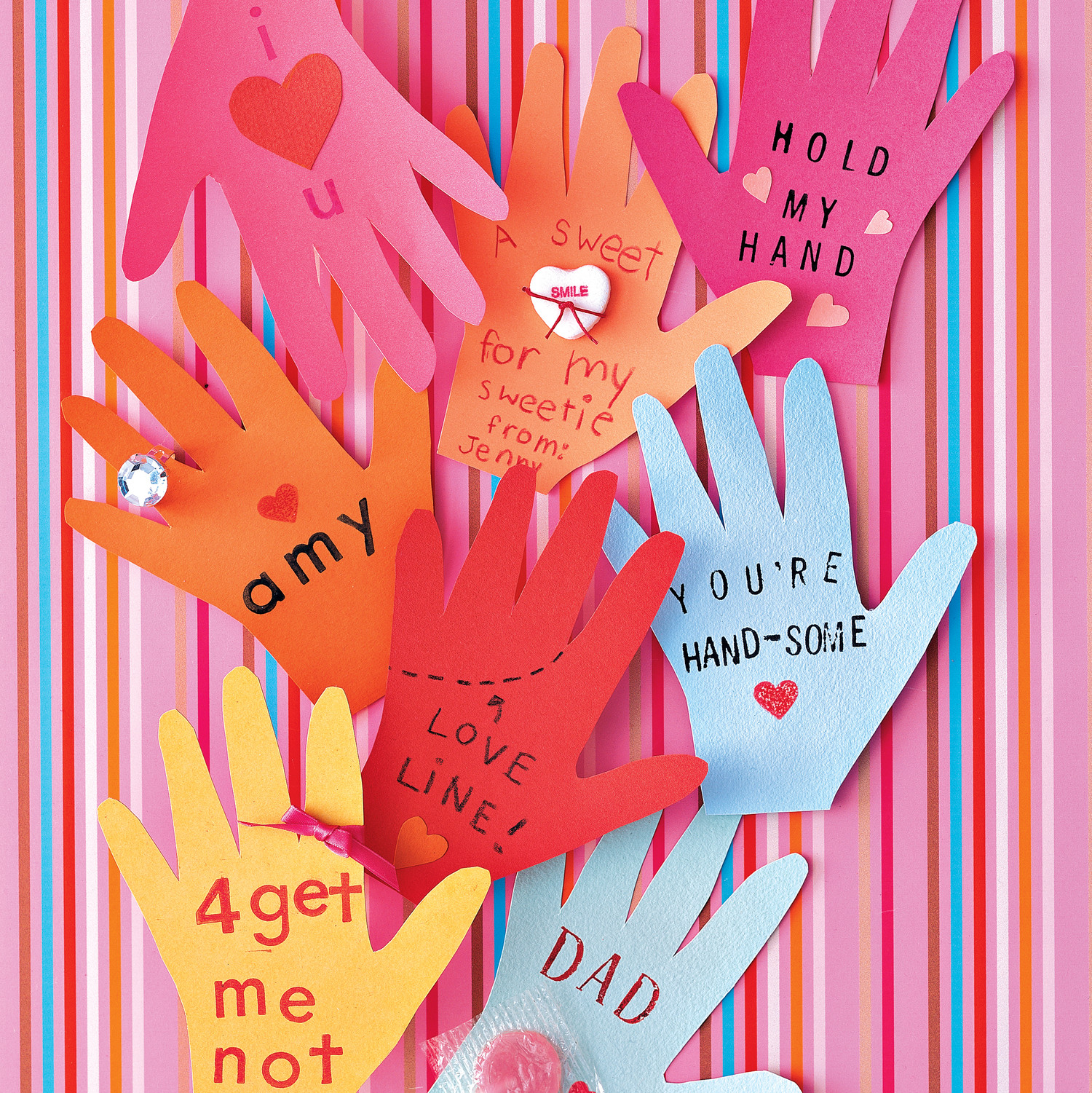 Valentine Day Craft Ideas For Kids Part - 44: Crafty Kids: Cool DIY Valentineu0027s Day Cards To Hand Out At School | Martha  Stewart