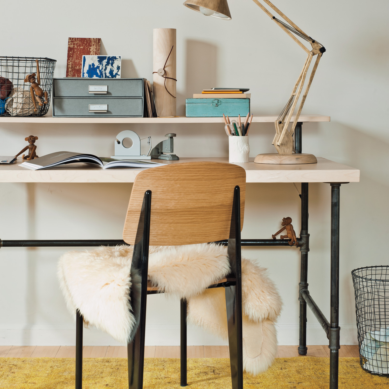 Industrial Chic Desk Martha Stewart