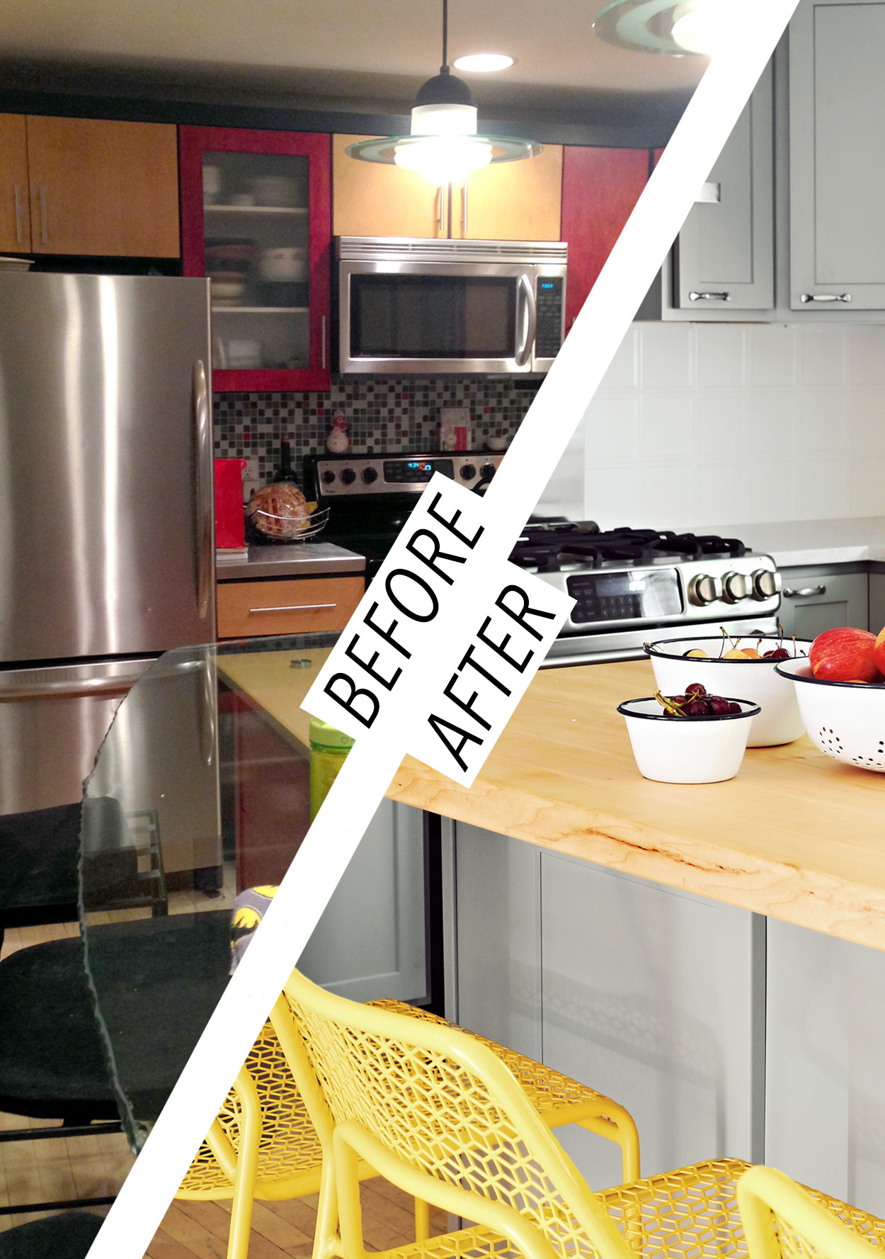 From Tacky To Tasteful A Kitchen Renovation For An Old Maine House