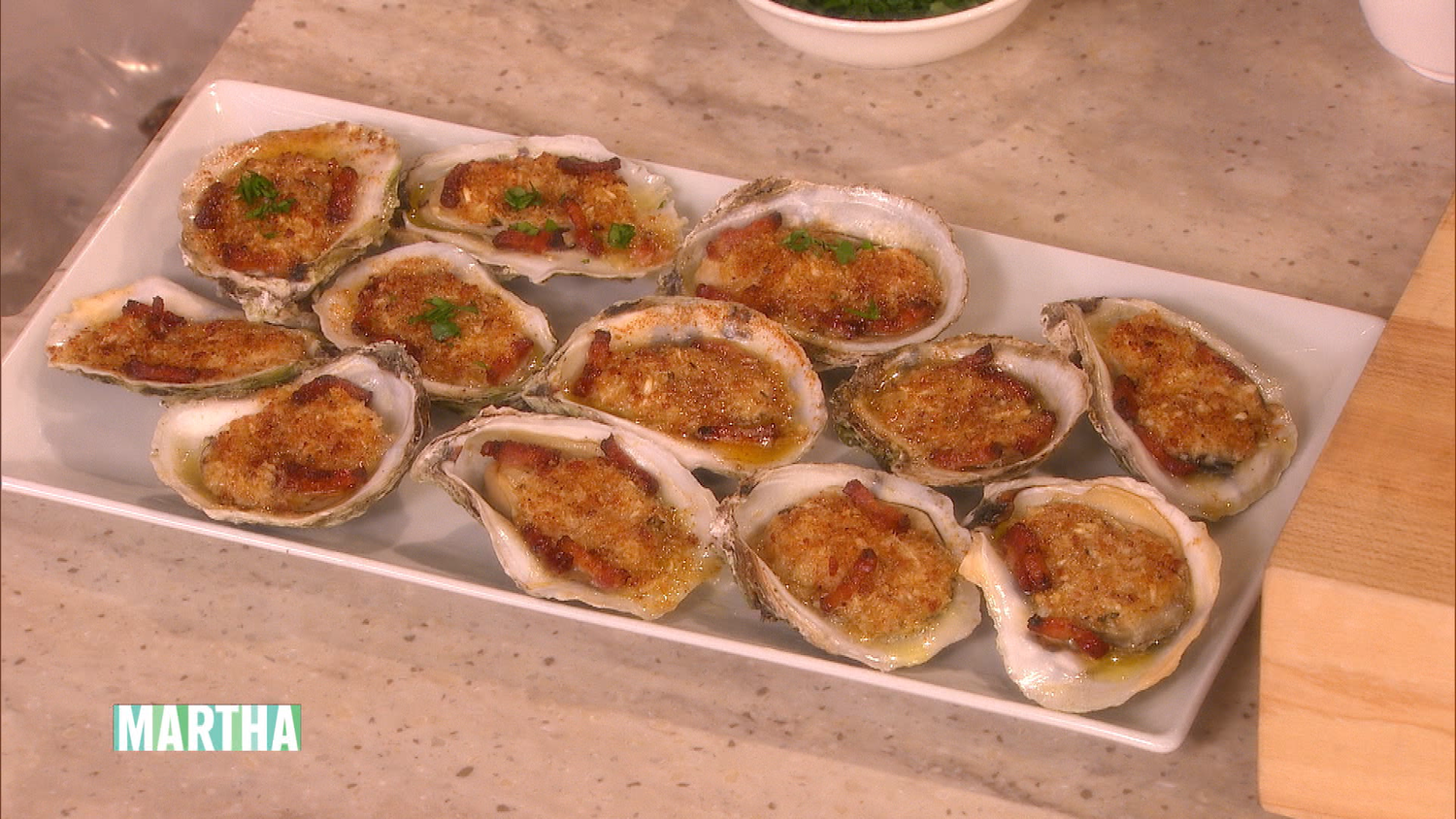 Bacon-Stuffed Oysters