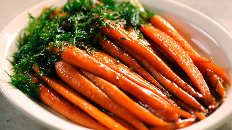 Brown-Sugared Carrots Video | Martha Stewart