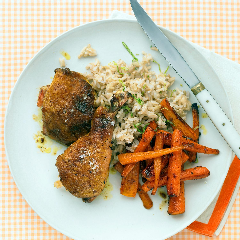 3 Ingredient Chicken Dinners: Five-Ingredient Dinners